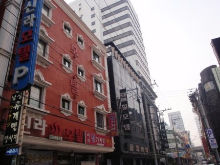 The Hill Motel, Busan. It's the one on the right.