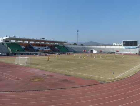 Another view of the main stand.