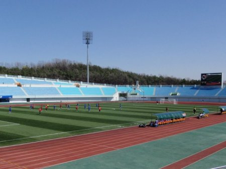Yet another running track.