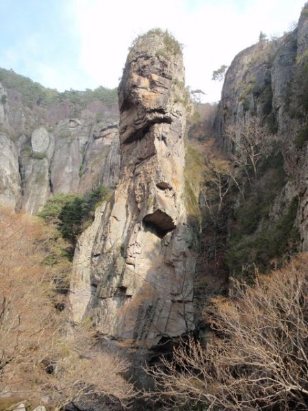 A big rock.