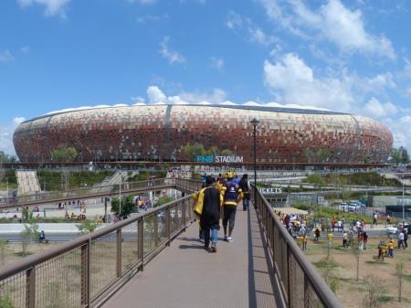 The FNB Stadium.