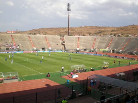 The Lucas Moripe Stadium.