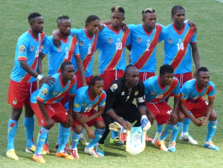 DR Congo - extra marks for the classic goalie kit.