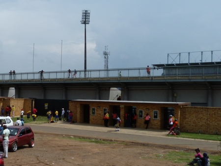 Entrance to the Sinaba Stadium.