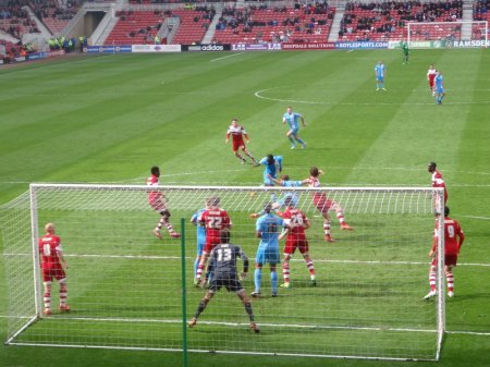 Barnsley on the attack.