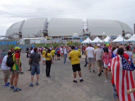 The Arena das Dunas.