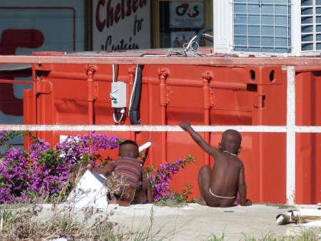 Himba kids.